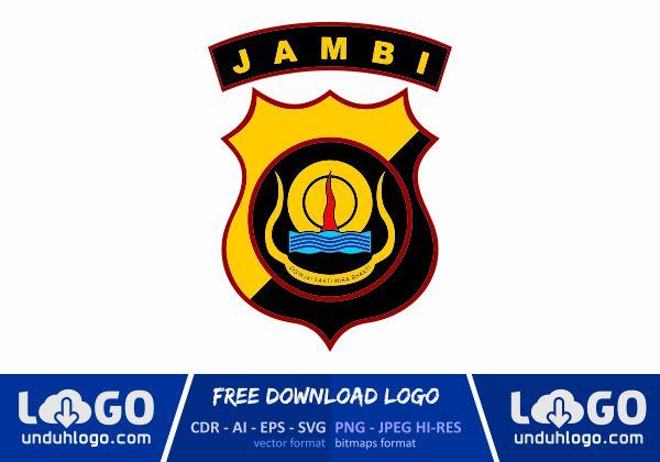 Logo Polda Jambi