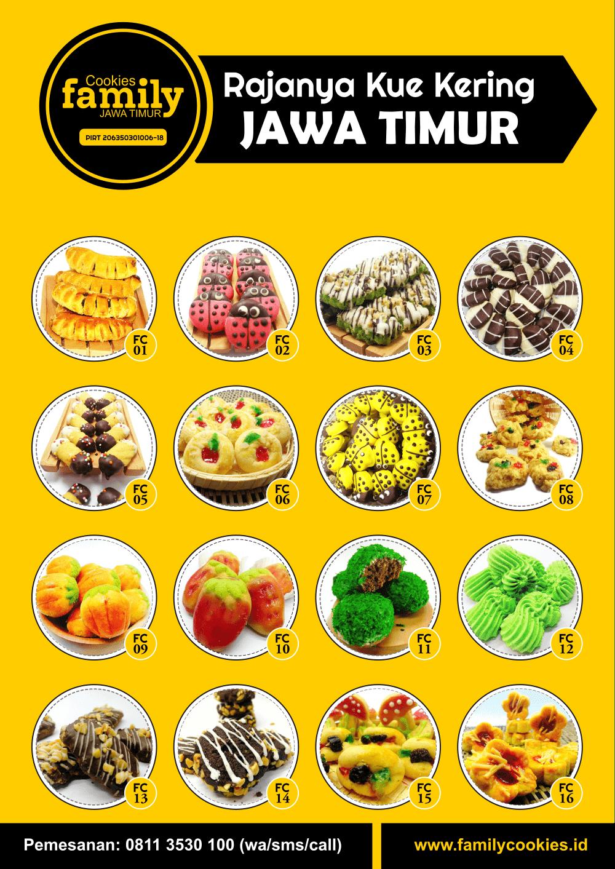 Katalog Family Cookies Versi Leaflet