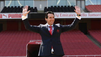 In pictures: Emery Visits The Emirates