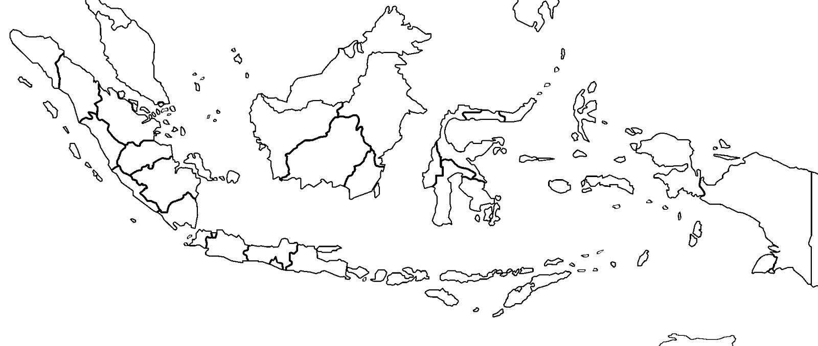 gambar peta indonesia %