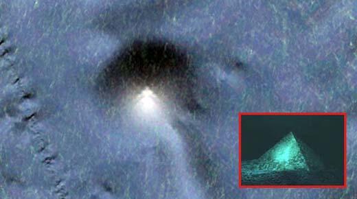 ¿Encontraron la Atlántida? 'Pirámide de 13.5 kilómetros' descubierta en el fondo del océano