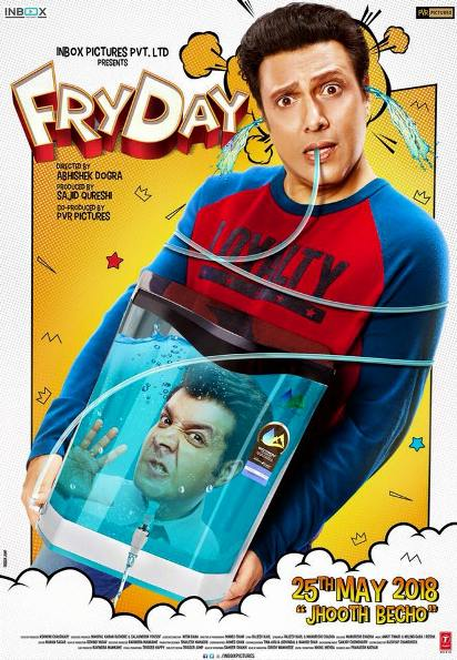 Fryday new upcoming movie first look, Poster of Govinda, Varun Sharma next movie download first look Poster, release date