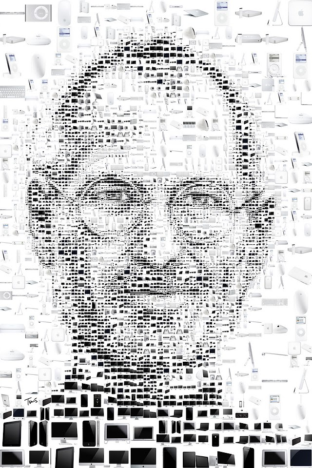 Steve Jobs  Galaxy Note HD Wallpaper