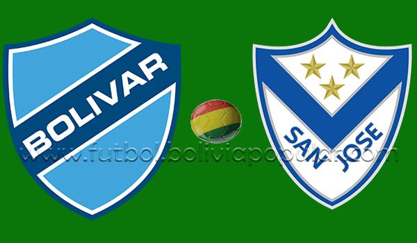Bolívar vs. San José - En Vivo - Online - 3er. Puesto  - Torneo Apertura 2018