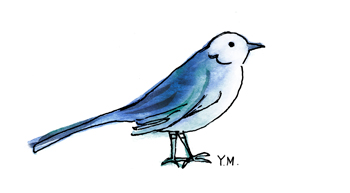 Bird by Yukié Matsushita
