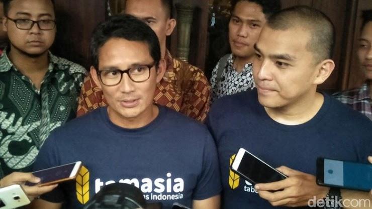 Sandiaga: Indra Uno Masih Pimpin OK OCE, Tapi Tak Terima Dana DKI