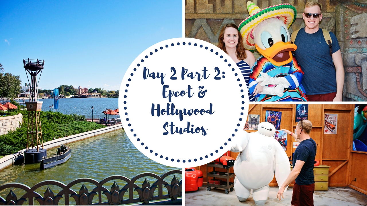 Epcot and Hollywood Studios