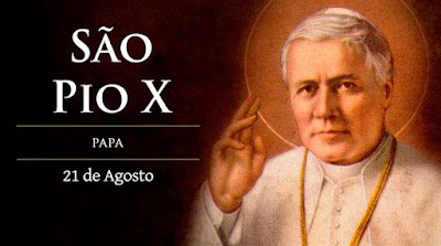 """Hoje é celebrado São Pio X, o """"Papa da Eucaristia"""""""