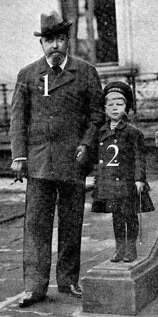Le duc de Cobourg et son petit-fils roumain