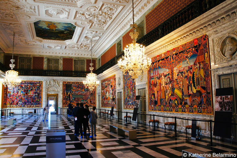 Queen Margrethe's Tapestries, Great Hall, Christiansborg Palace, Copenhagen, Denmark