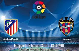 Prediksi Atletico Madrid Vs Levante 13 Januari 2019