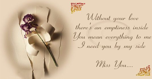 Love Text Messages Quotes Poems And Sms 20 Cute Missing You Quotes