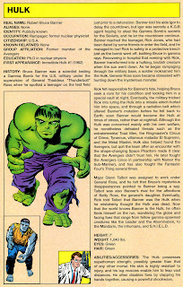 Increible Hulk Superheroe