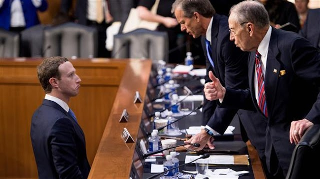US: Facebook's CEO Mark Zuckerberg testifies to Senate over data scandal