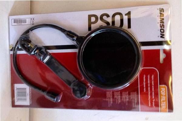 Màng lọc âm Pop-filter Samson PS01