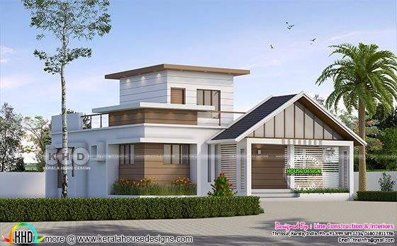 1117 square feet 3 bedroom modern one floor home architecture