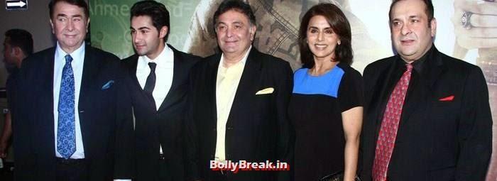 Randhir Kapoor, Armaan JainNeetu Singh, Reema Kapoor, Rishi Kapoor