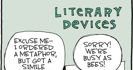 mystery fanfare cartoon of the day literary devices
