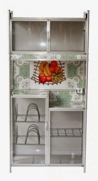 Harga Lemari Piring Alumunium Ukuran Kecil Untuk Dapur Mungil