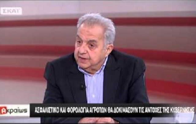 Αλ. Φλαμπουράρης: «Η κύρια σύνταξη κατοχυρώνεται με το σχέδιο νόμου για το ασφαλιστικό» (Vid)