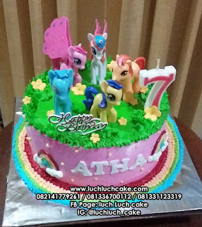 Kue Tart My Little Pony Cantik