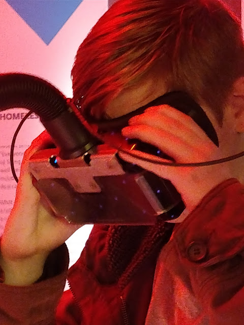 VR headset at The Museum of London