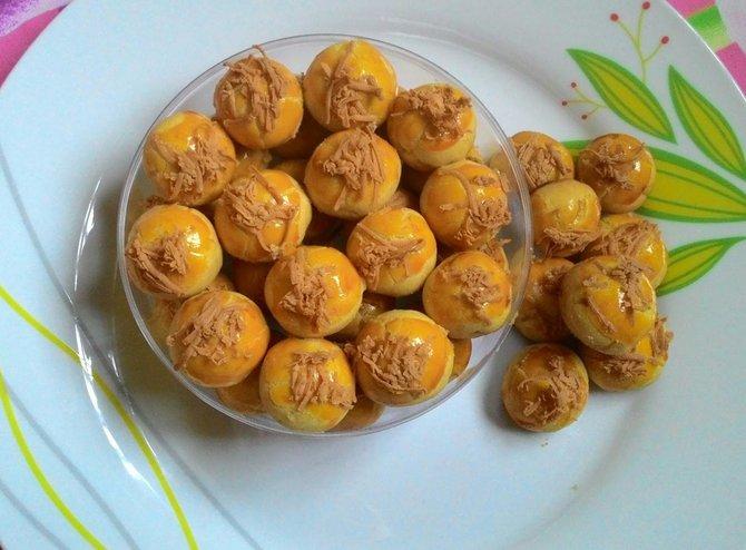 Cara membuat kuenastarkeju selai nanas
