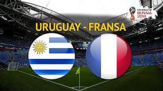 Uruguay - Fransa Canli Maç İzle 06 Temmuz 2018