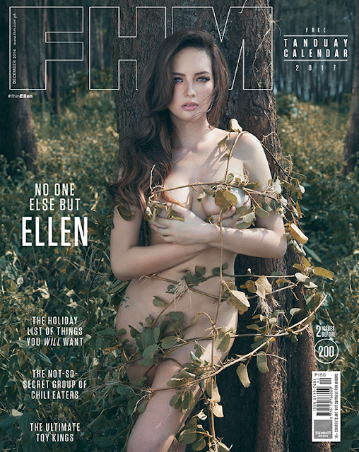 Ellen Adarna FHM December 2016 Cover Girl