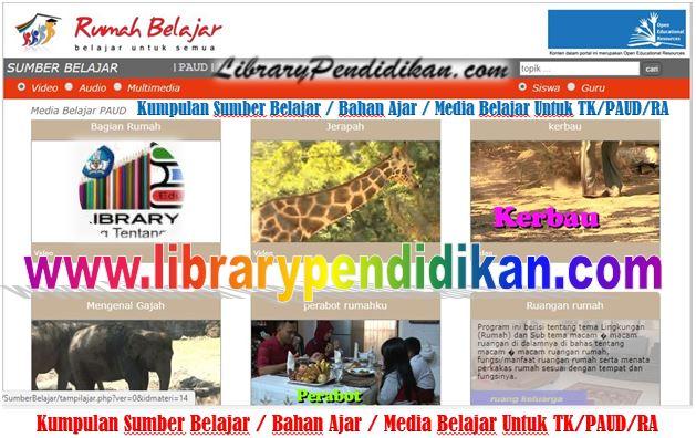 Kumpulan Sumber Belajar / Bahan Ajar / Media Belajar Untuk TK/PAUD/RA