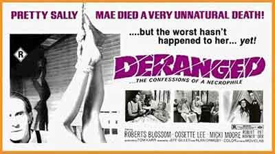 Deranged 1974 Poster