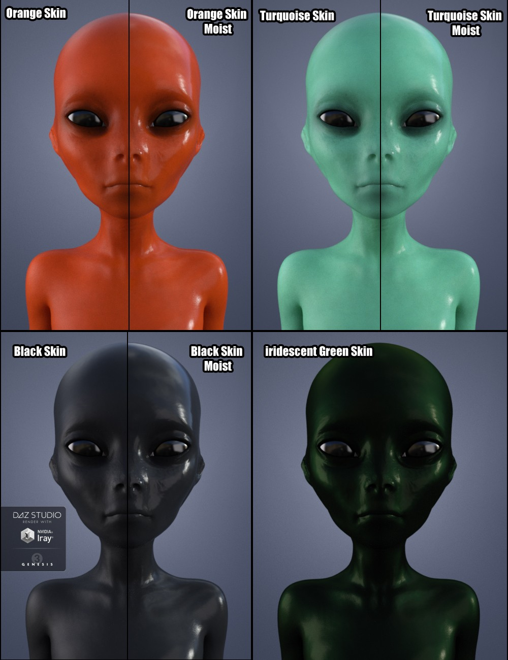 Female grey alien — photo 8