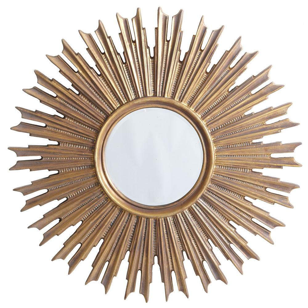 Good life of design new home 39 s entry hall update for Sunburst mirror