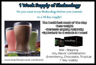 trial shakeology