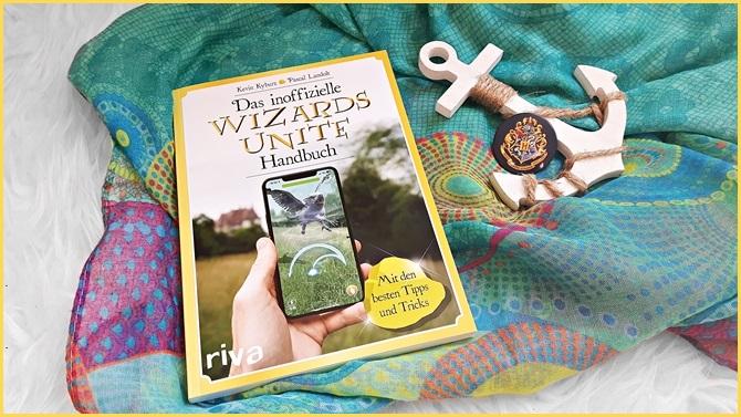 Das inoffizielle Wizards Unite Handbuch riva mvg Verlag Rezensionsexemplar App Okemon Go virtual reality