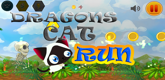 Dragons Cat Run New android game