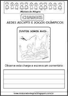 Charge dengue e jogos olímpicos