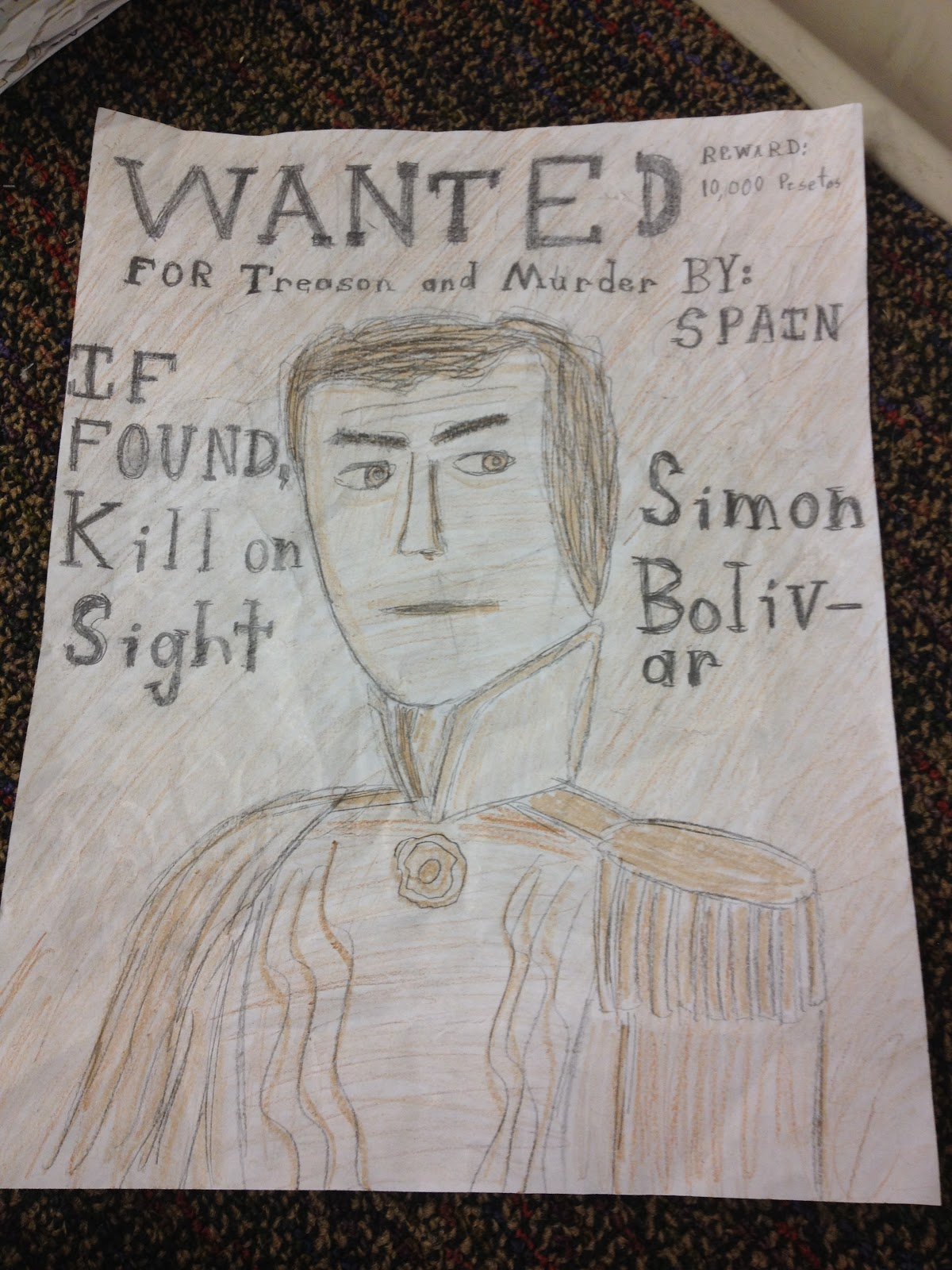 making a wanted poster