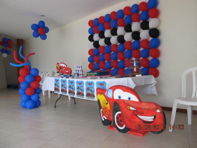 Decoracion cars fiestas infantiles y recreacionistas - Fiesta infantil tematica ...