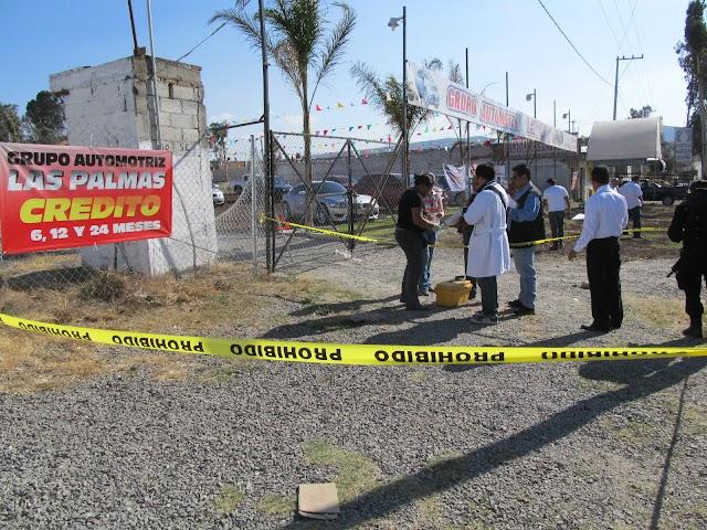 Muere tras balacera en la federal Puebla-Atlixco