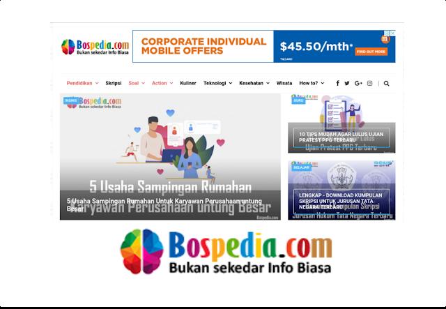 Belajar Online di Bospedia.com | Website Pendidikan Lengkap