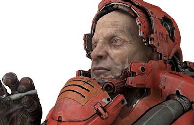 Modelado 3D astronauta