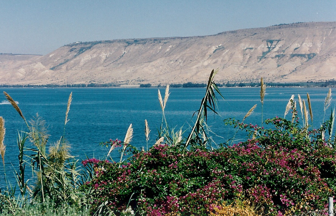 Israel Size: Cold Fusion Guy: Just How Large Is The Sea Of Galilee? In