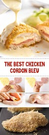 The Best Chicken Cordon Bleu #chickenrecipes #cordonbleu