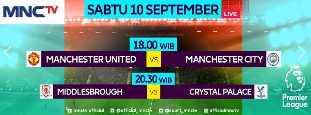 Jadwal Pertandingan & Siaran Langsung Liga Inggris Sabtu 10 September 2016