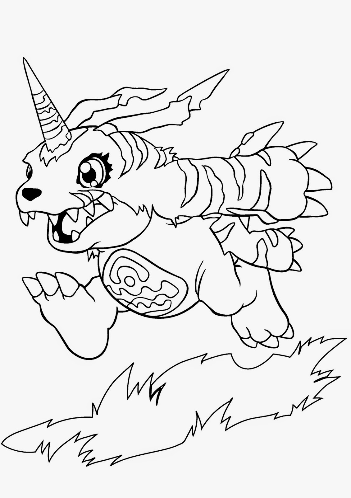Desenhos Para Colorir E Imprimir Desenhos Digimon Para Colorir E Imprimir