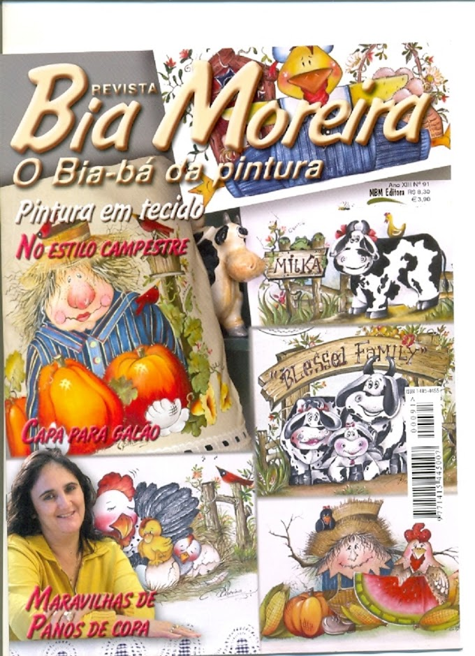 Revista Bia Moreira O Bia-bá da pintura-N°91