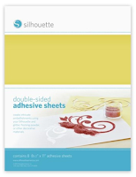 Silhouette Double-Sided Adhesive Sheet