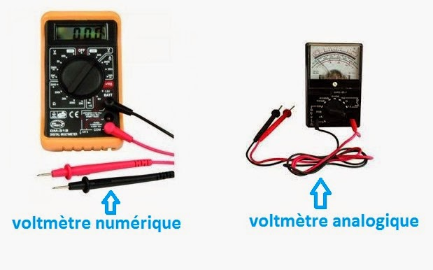 voltmètre