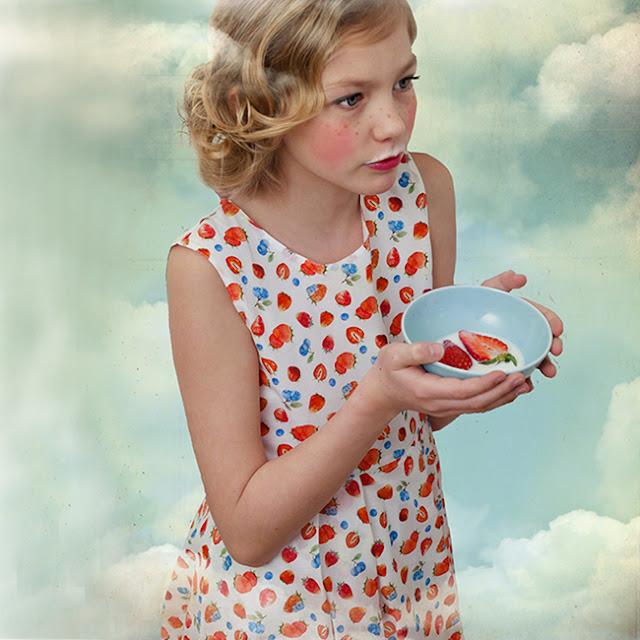 Stella Cove   White Strawberry Dress   Chichi Mary Boutique